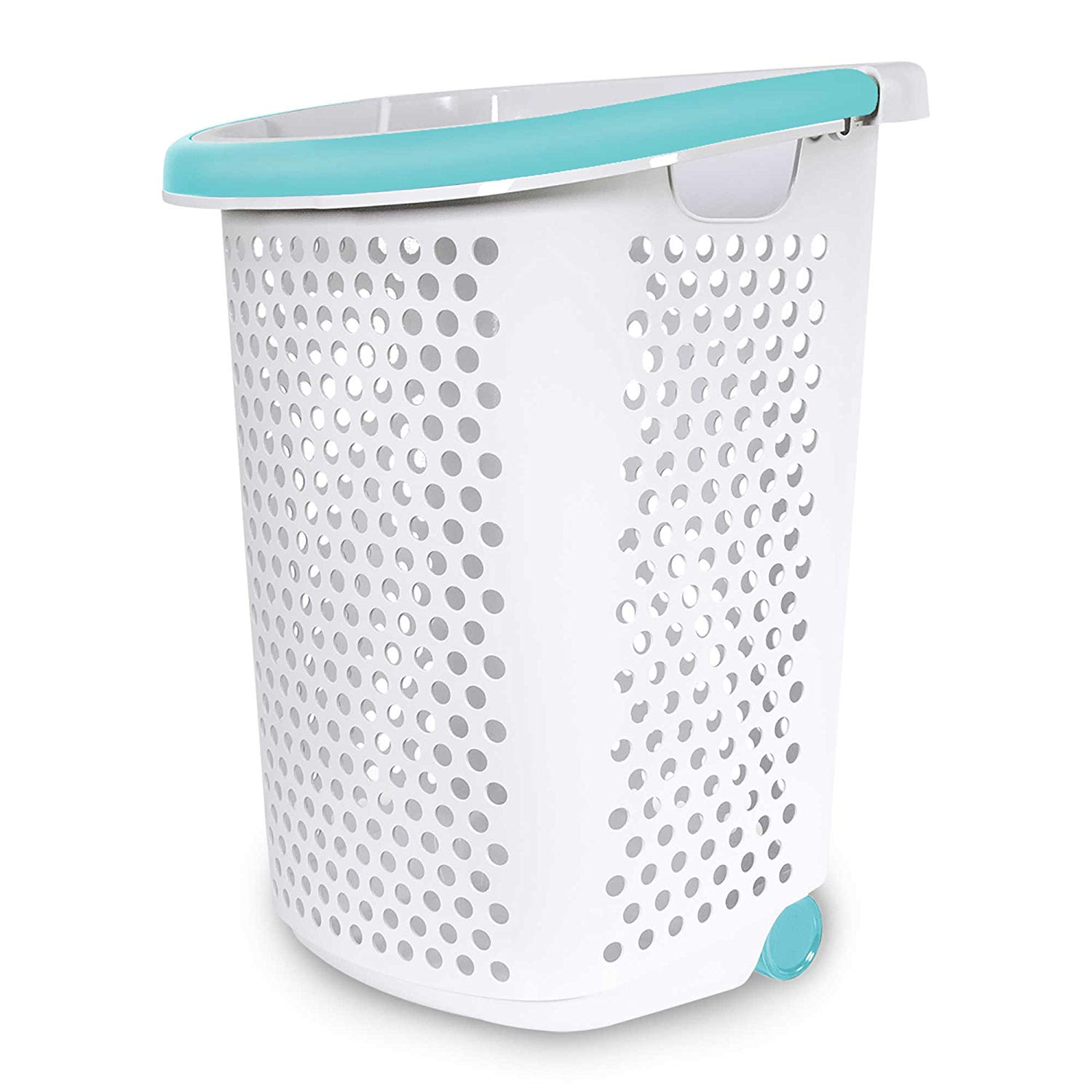 Rolling Wheeled Laundry Hamper Container Bin Storage