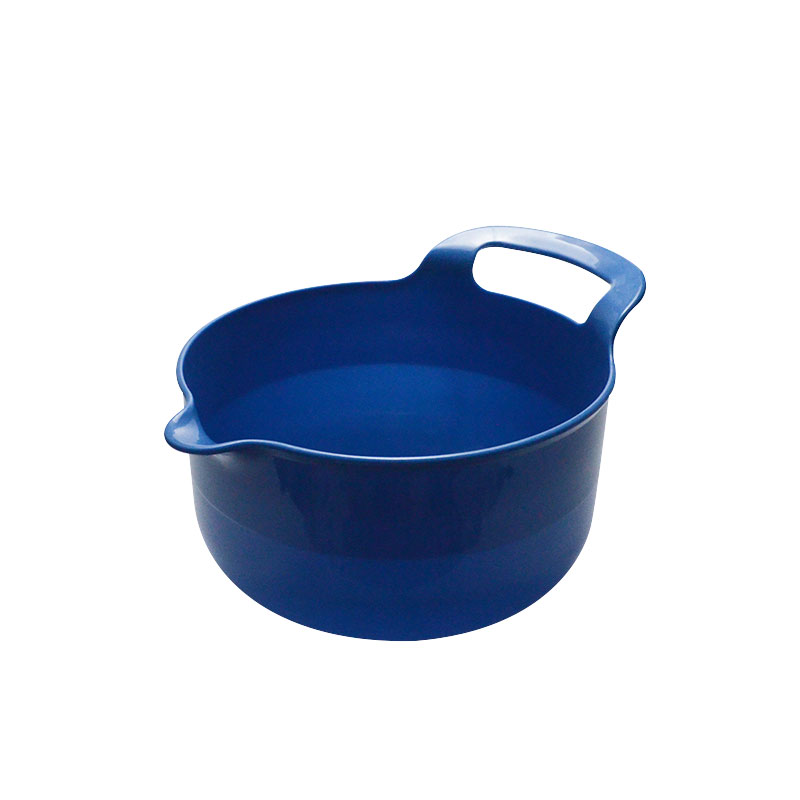 4 Piece Plastic Mixing Bowl set with handle