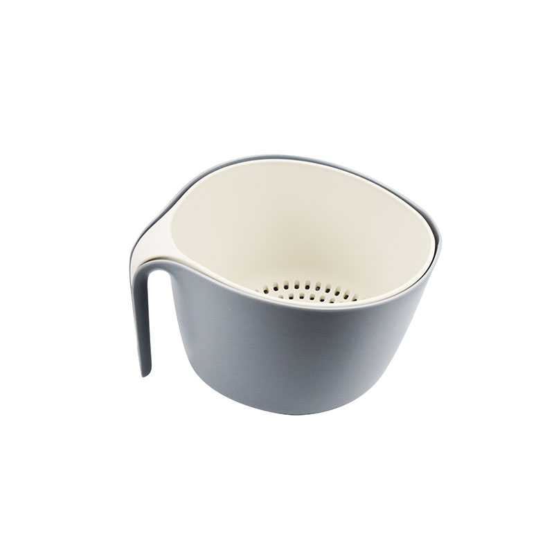 2 in 1 Fruit Vegetable Washing Basket Strainer Colander with